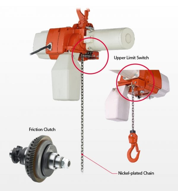Compact Electric Chain Hoist Features