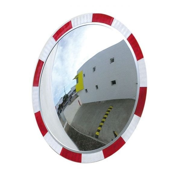 Convex Mirrors High Vis Round Indoor and Outdoor