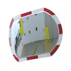 Convex Mirrors High Vis Roundtangular Indoor and Outdoor