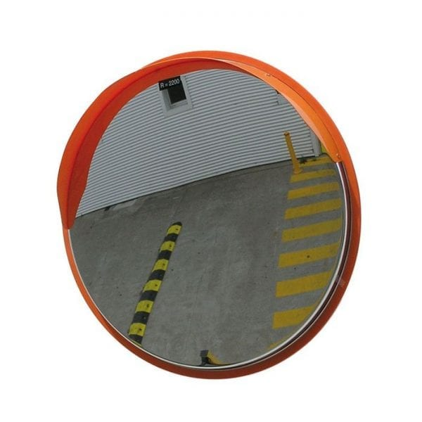 Convex Mirror Stainless Steel