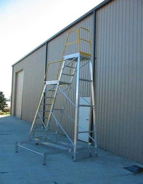 Custom Made Aluminium Access Platforms Multi Level Platform