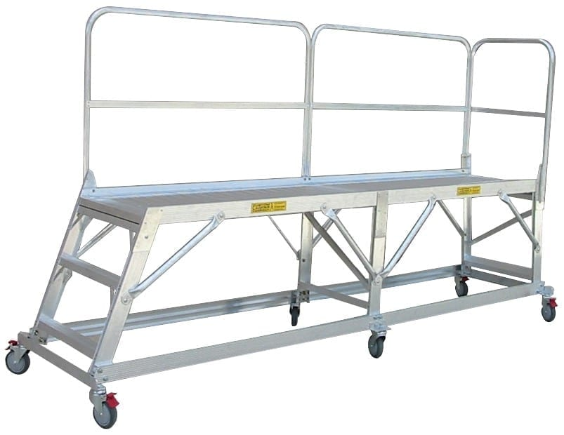 Custom Made Aluminium Access Platforms hero