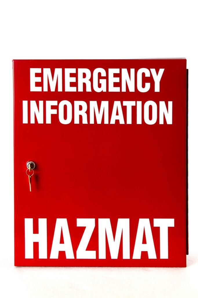 DAU25001 Hazmat Emergency Manifest Storage Cabinet