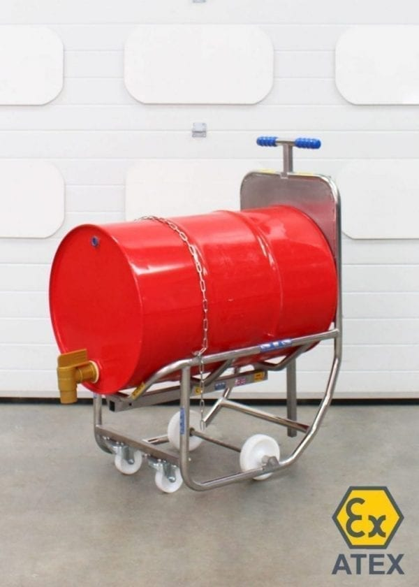 DCR01 Drum Rollover Dispensing Cradle 7