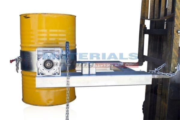 DDRNC Forklift Drum Rotator