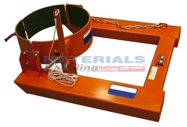 DDRU50 Forklift Mounted Manual Drum Dumper 2