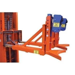 DGOD Grab O Matic forklift drum lifter
