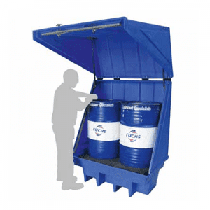 DMXP3005 Drum Spill Pallet with Lid