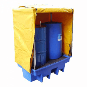 DMXP6501 PVC Cover and Frame for Double Drum Spill Pallets