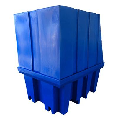 DMXP6510 Single IBC Spill Pallets Shroud back