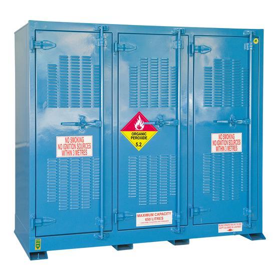 DPR650 Outdoor Dangerous Goods Store