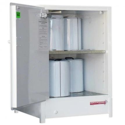 DPS0806 Heavy Duty Dangerous Goods Storage Cabinets open