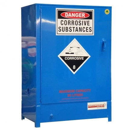 DPS0808 Heavy Duty Dangerous Goods Storage Cabinets closed