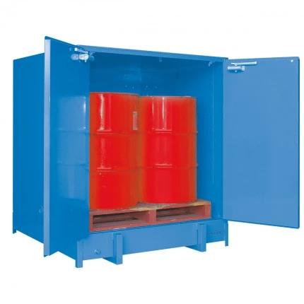 DPS10008 Heavy Duty Dangerous Goods Storage Cabinets open
