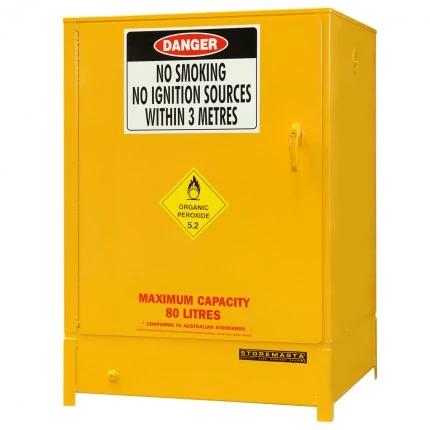 DPS16052 Heavy Duty Dangerous Goods Storage Cabinets closed