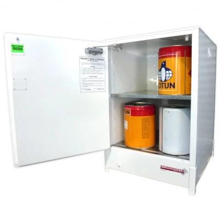 DPS1606 Heavy Duty Dangerous Goods Storage Cabinets open