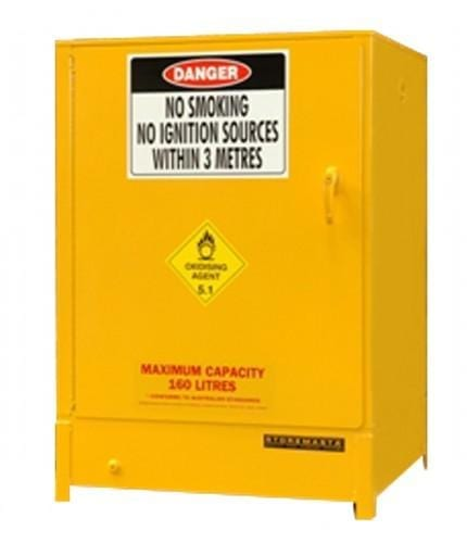 DPS160A Heavy Duty Dangerous Goods Storage Cabinets closed