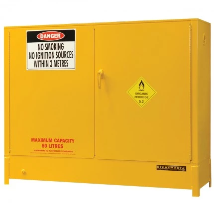 DPS16152 Heavy Duty Dangerous Goods Storage Cabinets closed