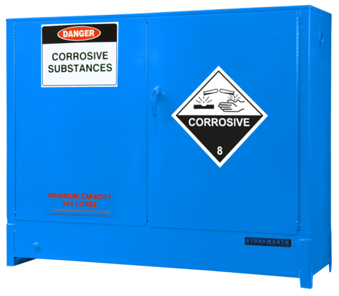 DPS1618 Heavy Duty Dangerous Goods Storage Cabinets closed