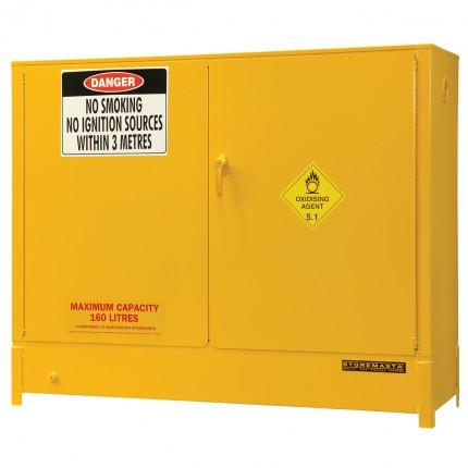 DPS161A Heavy Duty Dangerous Goods Storage Cabinets closed