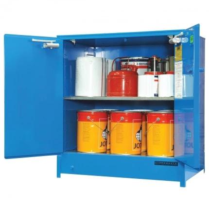 DPS2508 Heavy Duty Dangerous Goods Storage Cabinets open