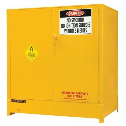 DPS250A Heavy Duty Dangerous Goods Storage Cabinets closed