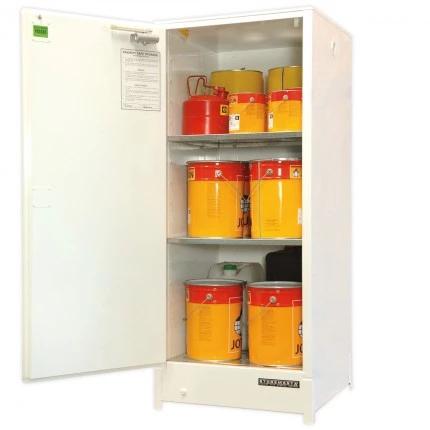 DPS2516 Heavy Duty Dangerous Goods Storage Cabinets open