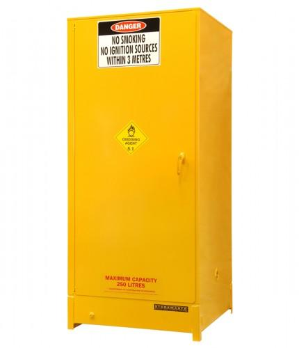 DPS251A Heavy Duty Dangerous Goods Storage Cabinets closed