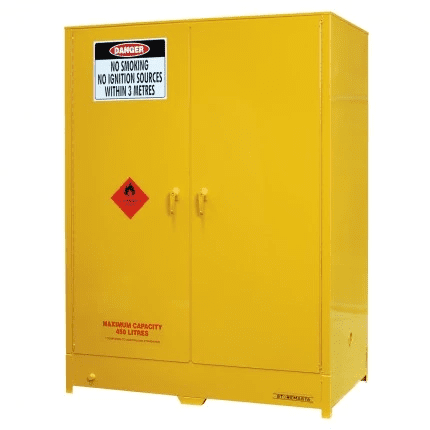 DPS450 Heavy Duty Dangerous Goods Storage Cabinets closed