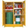 DPS450 Heavy Duty Dangerous Goods Storage Cabinets open