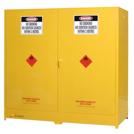 DPS650 Heavy Duty Dangerous Goods Storage Cabinets closed