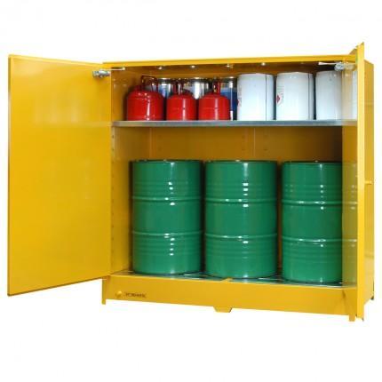 DPS650 Heavy Duty Dangerous Goods Storage Cabinets open