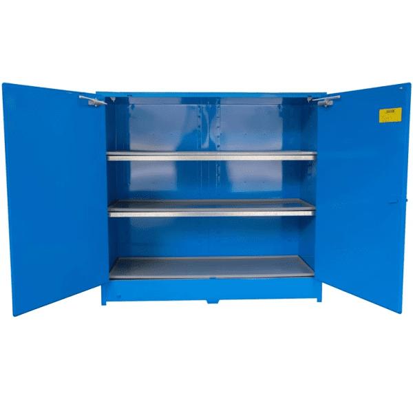 DPS6508 Heavy Duty Dangerous Goods Storage Cabinets open empty