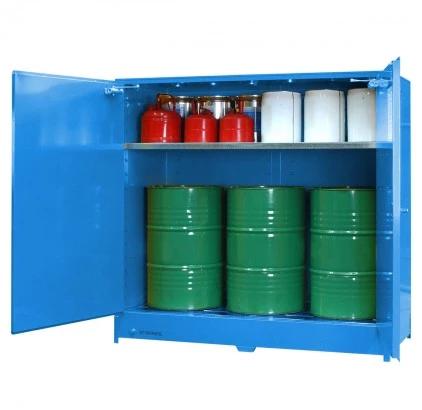 DPS6508 Heavy Duty Dangerous Goods Storage Cabinets open