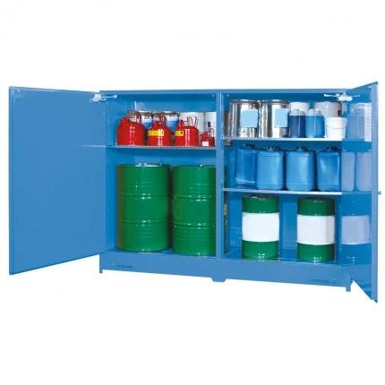 DPS8508 Heavy Duty Dangerous Goods Storage Cabinets open 2