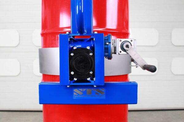 DRU02 FB Overhead Drum Rotator Self locking gearbox
