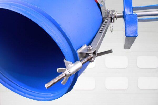DRU02 Overhead Drum Rotator Rim Clamp Securing System