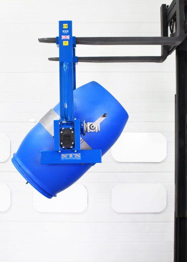 DRU02 Overhead Drum Rotator forklift pockets