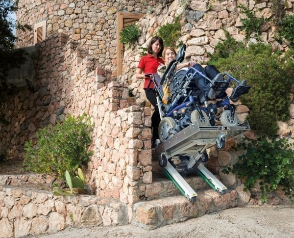 Domino People Wheelchair Stair Climber 4