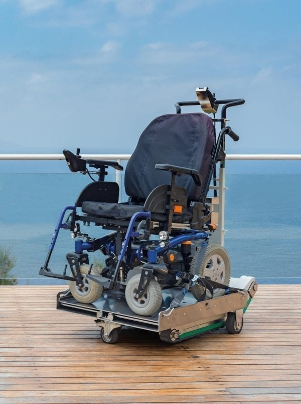 Domino People Wheelchair Stair Climber Cover