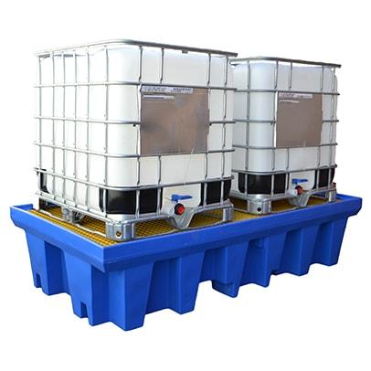 Double IBC Spill Pallets DMXP6002