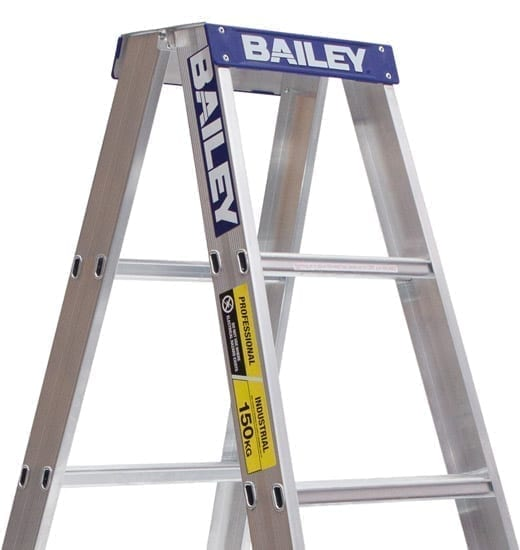 Aluminium Double Sided Ladders 6-step