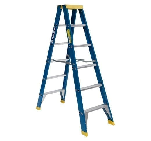 Fibreglass Double Sided Ladders 6-step