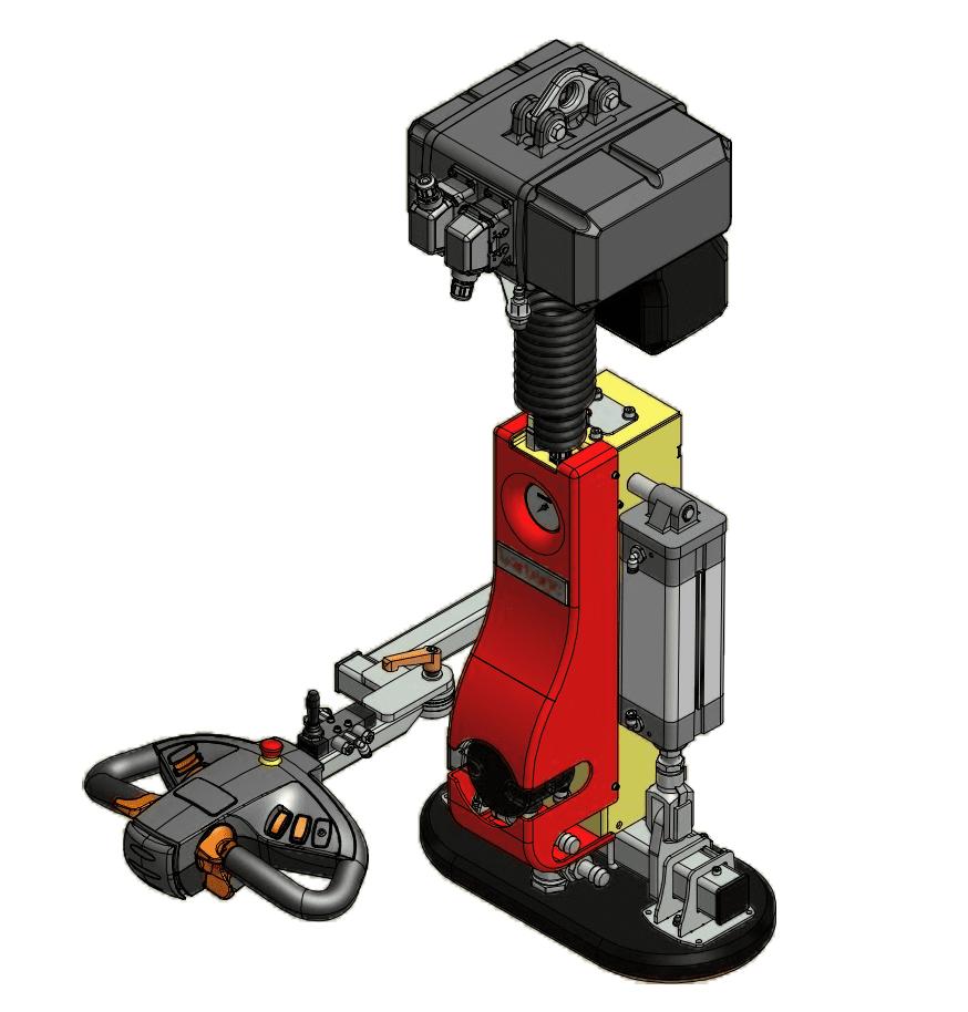 Barbaric B3 MINI uniWood Vacuum Lifter