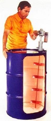 Drum bung mount kit