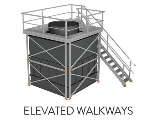 Elevated walkways