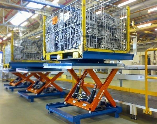 Eurolift Scissor Lift Tables Application 2