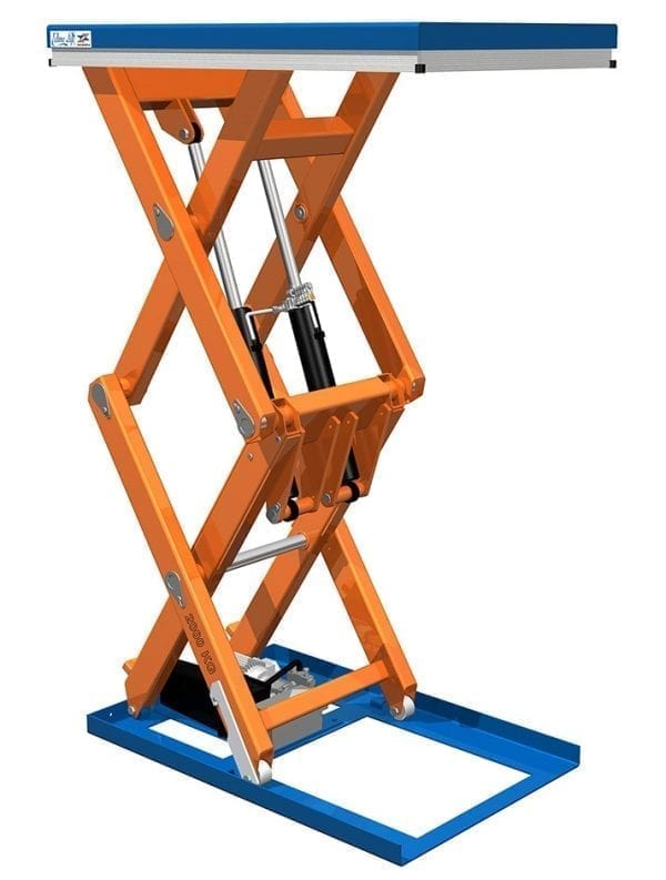 Eurolift Scissor Lift Tables Vertical Double Triple Scissor