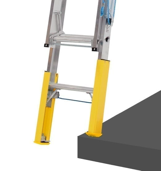 Extension Ladders Aluminium with Professional Punchlock and Leveller