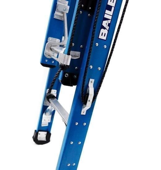 Extension Ladders - Professional Punchlock Fibreglass FXN with Vee Rung